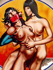 Masters cum all over his slave's face!