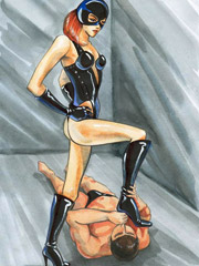 Nipple torture, dildo torture and more heavy bdsm