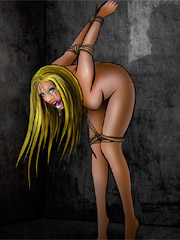 White slaves at the oriental east get spanked hard!
