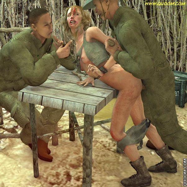 At War Sex Torture Sexy Girl