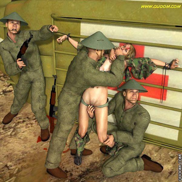 bdsm prisoners of war